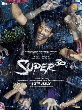 Movie - Super 30 - 2019 Cast، Video، Trailer، photos، Reviews، Showtimes