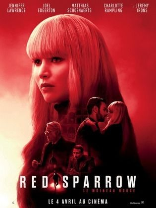 Red Sparrow 2018 720p HDRip 1GB