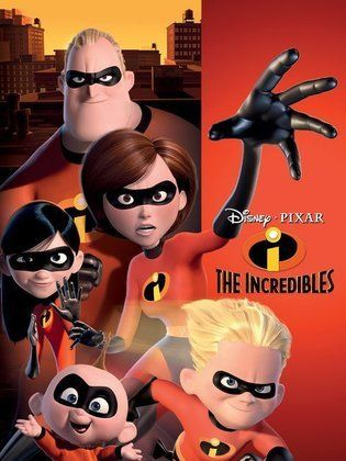 Movie - The Incredibles - 2004 Cast، Video، Trailer، photos