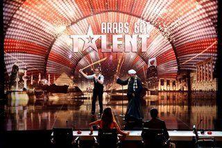 بالصورة: حلمي يرقص صعيدي في الحلقة الرابعة من Arabs Got Talent