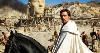 """الظهور الأول لكريستيان بيل في شخصية نبي الله """"موسى"""""""