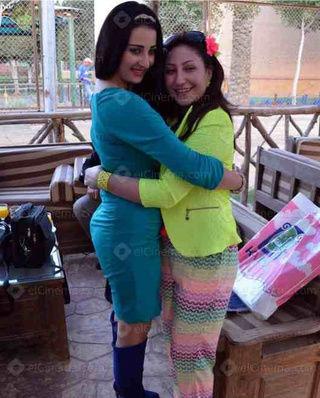 بالصور: صافيناز تشارك بوسي الاحتفال بعيد ميلاد ابنها
