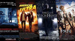 تقرير: 4 أفلام أمريكية تتنافس على إيرادات شباك التذاكر المصري هذا الأسبوع