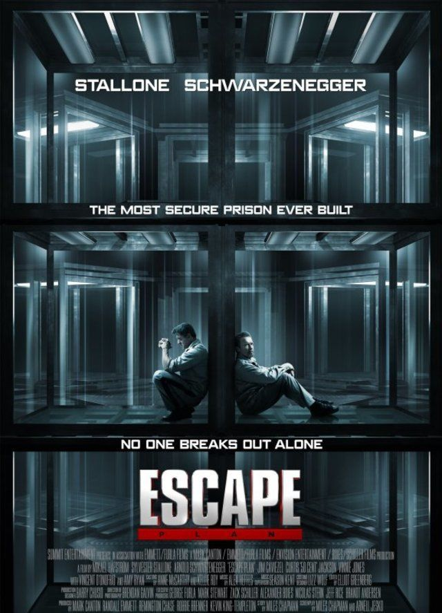 سحب فيلم أرنولد شوارزينجر و سيلفستر ستالون Escape Plan من سينمات